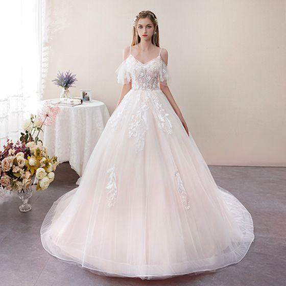 Spaghetti Strap Short Wedding Dresses