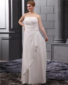 Applique Sweep Große Größen Brautkleider Hochzeitskleid