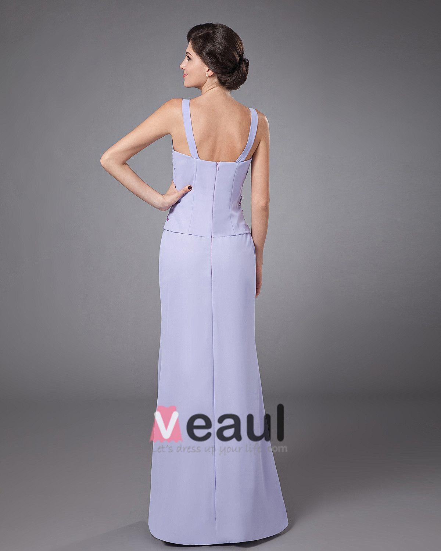 Chiffon Ruffle Coat Floor Length Mothers of Bride Guests Dresses
