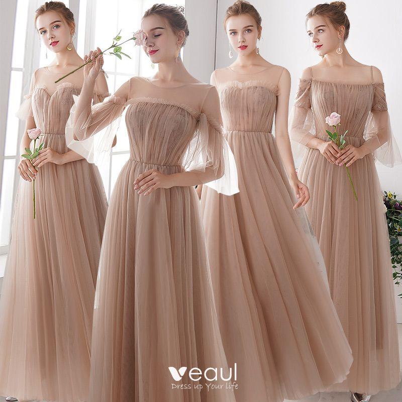 elegant bridesmaid elegant wedding party dresses