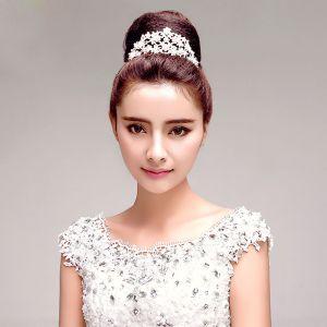 Rhinestone Bridal Headpirces / Tiara /Head Flower / Wedding Hair Accessories / Wedding Jewelry/Garland