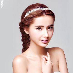 Belle Perle La Coiffure / Fleur Tete / Accessoires De Cheveux De Mariage / Bijoux De Mariage Nuptiale