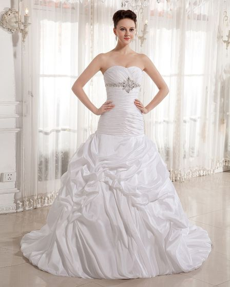 Flæse Perler Kæreste Domstol Imperium Brudekjoler Bryllupskjole
