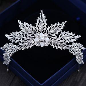 Unique Argenté Tiare 2018 Métal Perle Faux Diamant Accessorize