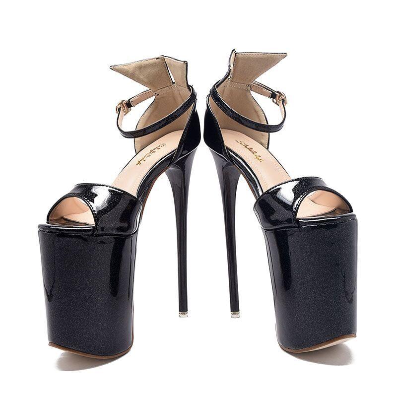 Modern / Fashion 2017 15 cm / 6 inch Red Black Casual PU Black High Heels Stiletto Heels Pumps