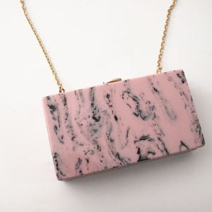 Modern / Fashion Pearl Pink Printing Homecoming Cocktail Party Clutch Bags 2018