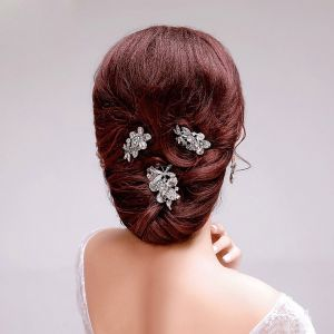 Shine Rhinestone The Bridal Headpieces Wedding Hair Accessories Earrings Jewelry