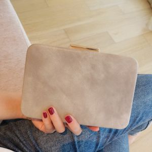 Modest / Simple Grey Clutch Bags 2018