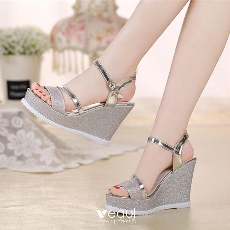 Peep Toe Womens Sandals