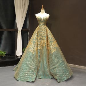 Sage Green formal gown