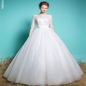 vestido novia cuello cuadrado
