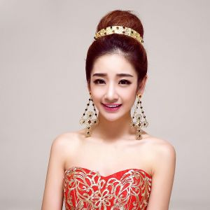 Fashion Bridal Jewellery Wedding Tiara / Wedding Earring Two Piece
